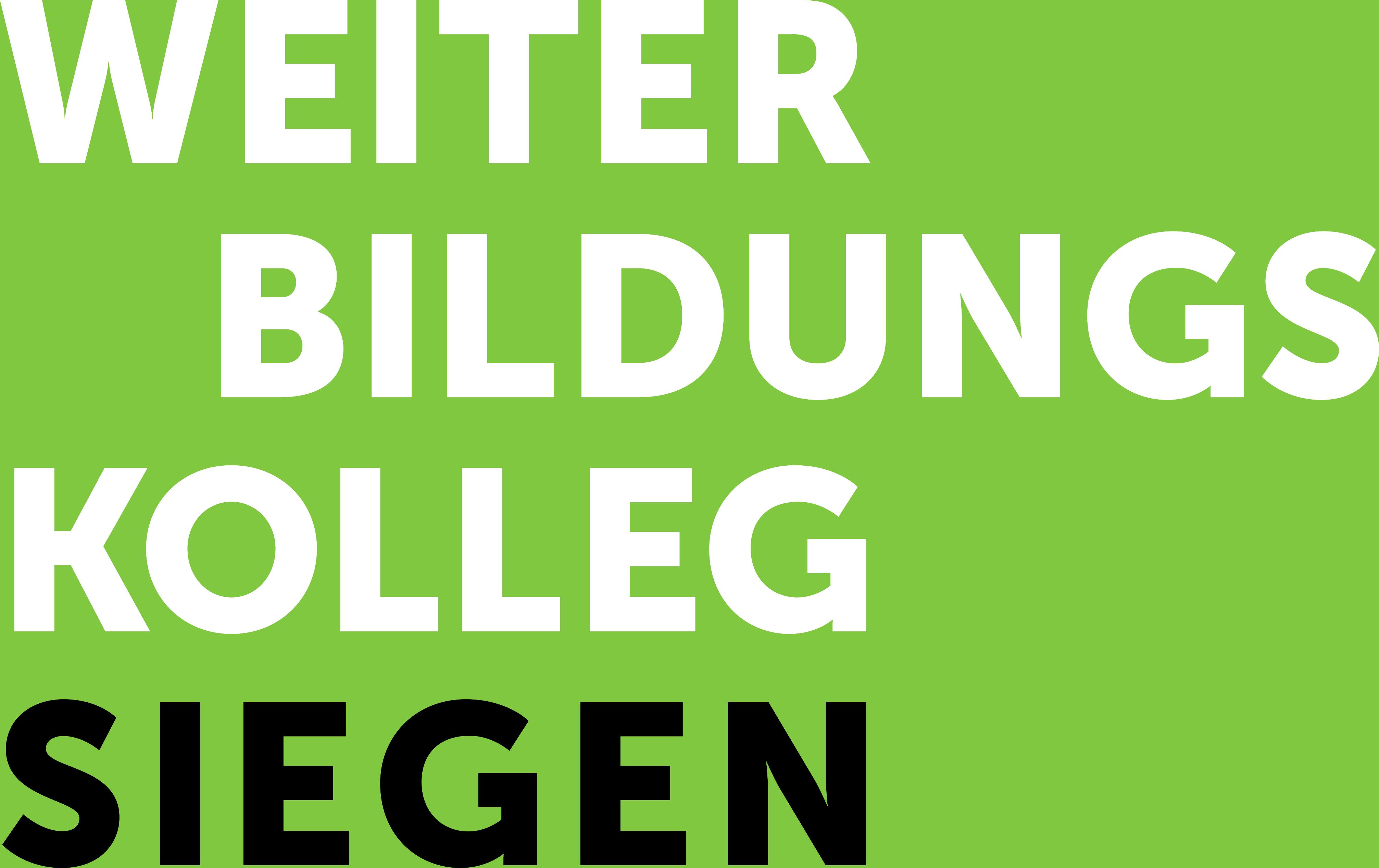 Weiterbildungskolleg Siegen (WBK Siegen)
